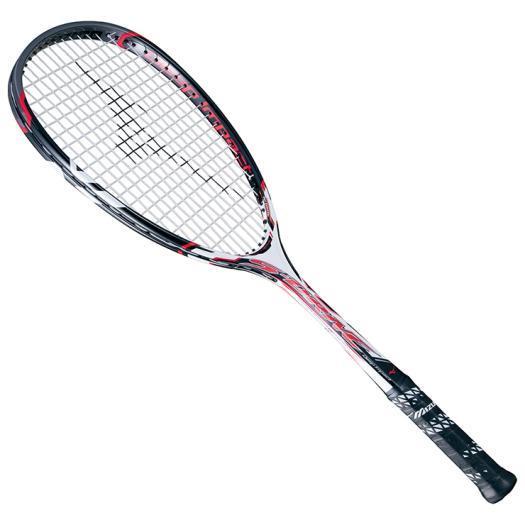 MIZUNO ミズノ ソフトテニスラケット【フレームのみ】 ディープインパクト Sドライブ ホワイト/ブラック(63jtn65001)