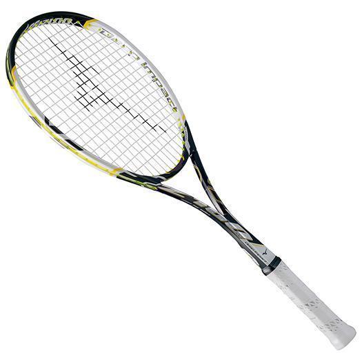 大特価!MIZUNO ミズノ ソフトテニスラケット【フレームのみ】 ディープインパクト Z-100 ブラック/ホワイト(63jtn66009)