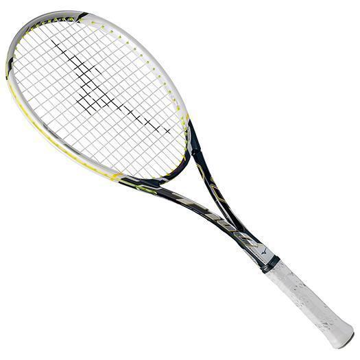 大特価!MIZUNO ミズノ ソフトテニスラケット【フレームのみ】 ディープインパクト T-100 ブラック/ホワイト(63jtn66209)