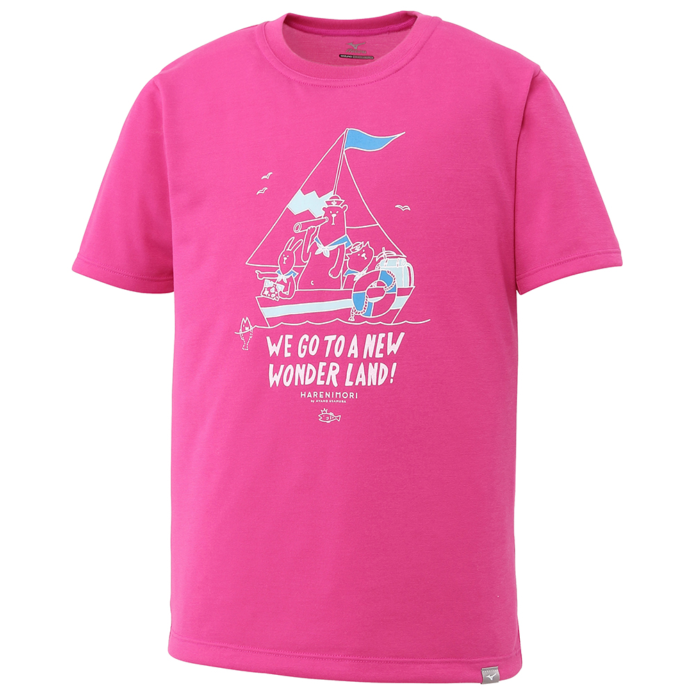 MIZUNO(ミズノ) プリント半袖Tシャツ[ジュニア] アウトドア 長袖/半袖シャツ メンズ A2JA743263