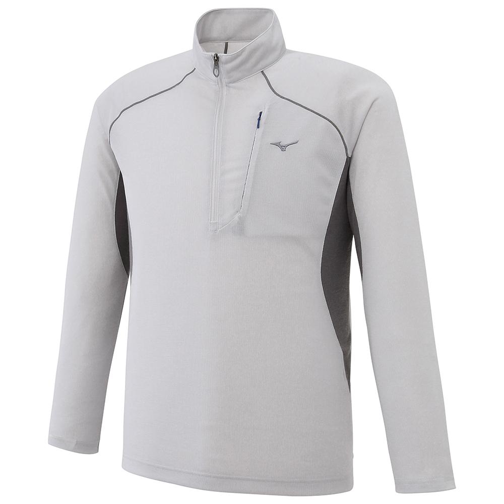 MIZUNO(ミズノ) ライトインナー長袖ジップネックシャツ メンズ A2JA706104