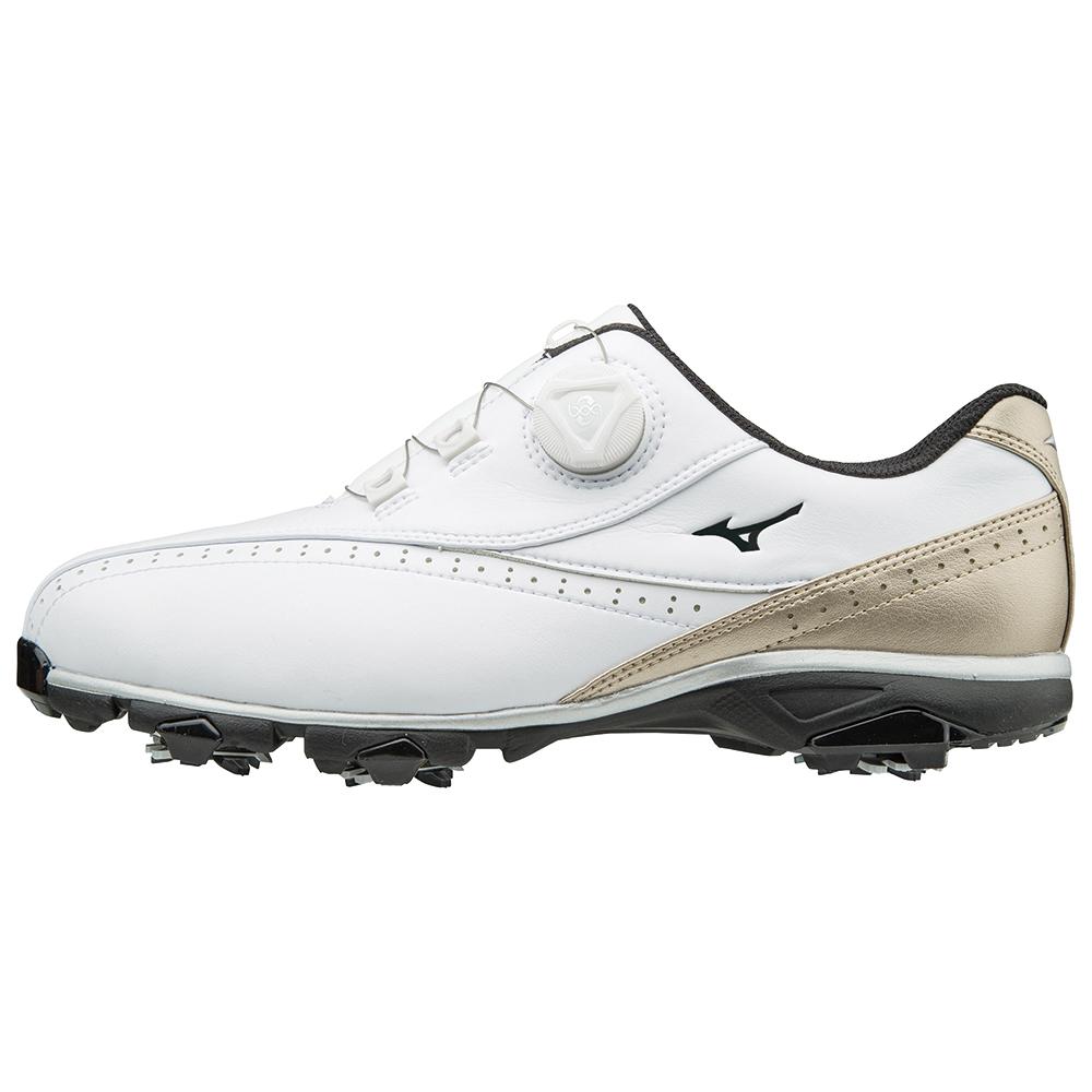 MIZUNO(ミズノ) WIDE STYLE 002 Boa ゴルフ シューズ メンズ 51GQ174050