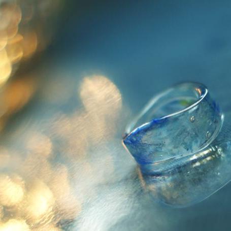 『幸せの架け橋』 ガラスアクセサリー リング・指輪 デザインタイプ