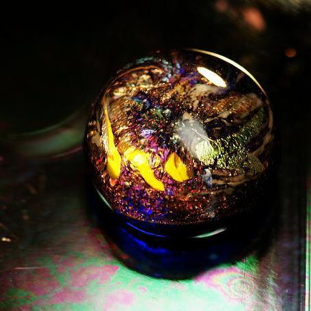 『銀河の珠玉 ~ Big Bang ~』 ガラスアクセサリー オブジェ