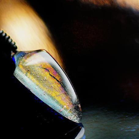 『Pendulum spear』 ガラスアクセサリー ネックレス・ペンダント ネックレス・ペンダント ネックレス・ペンダント 立体造形タイプ 778