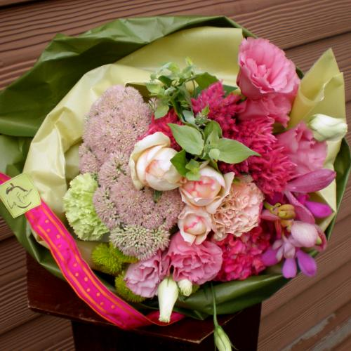 Prima Duet Bouquet Flower Arrangement Rose Memorial Day Wedding Celebration Gift Celebrating Same Delivery Presents