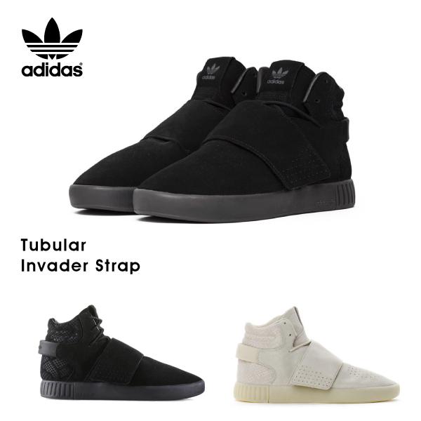 【送料無料】【並行輸入品】『adidas-アディダス-』Tubular Invader Strap 〔BB8392/BB8943〕[オリジナルス チュブラー インべーダー メンズ スニーカー 靴]