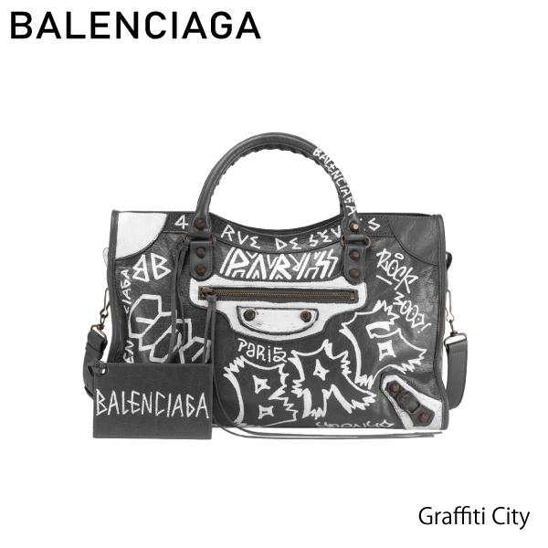 【送料無料】【並行輸入品】【2018】『BALENCIAGA-バレンシアガ-』Graffiti City [5055500FE1T]