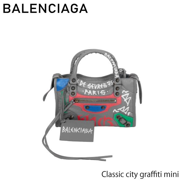 【送料無料】【並行輸入品】【2018】『BALENCIAGA-バレンシアガ-』Classic city graffiti mini [3002950FEJT]