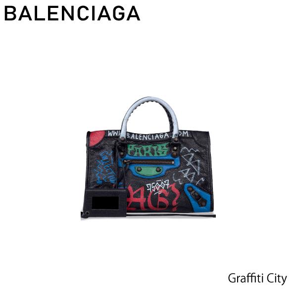 【送料無料】【並行輸入品】【2018 SS】『BALENCIAGA-バレンシアガ-』Graffiti City S -グラフィティ クラシック シティ S -