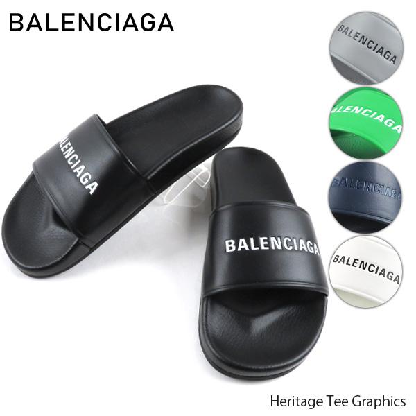 【送料無料】【並行輸入品】『BALENCIAGA-バレンシアガ-』Flat Sandal メンズ シャワーサンダル プールサンダル 506347 -フラットサンダル-【スーパーSALE開催☆ポイント最大44倍!!6/11 01:59マデ】