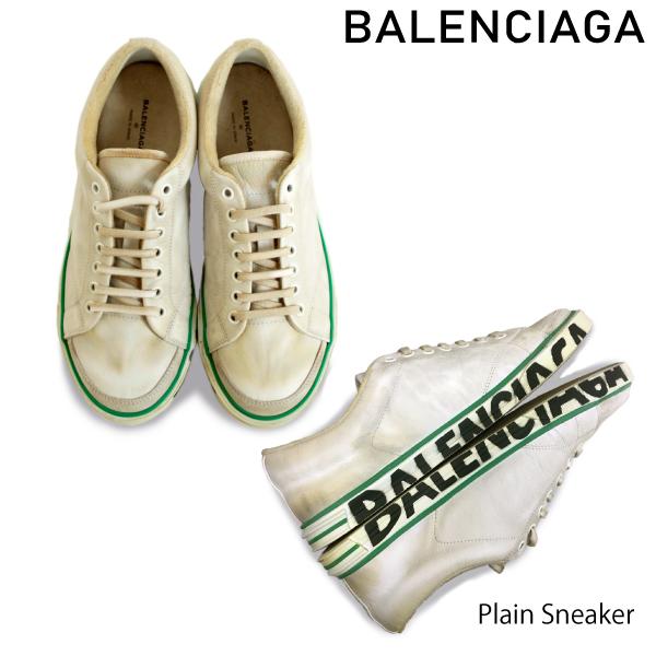 【送料無料】【並行輸入品】【2018 SS】『BALENCIAGA-バレンシアガ-』Plain Sneaker -プレインスニーカー-
