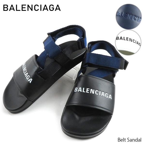 【送料無料】【並行輸入品】『BALENCIAGA-バレンシアガ-』Belt Sandal メンズ ベルトサンダル[506348]