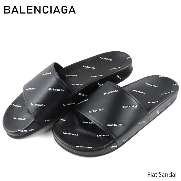 【送料無料】【並行輸入品】『BALENCIAGA-バレンシアガ-』Flat Sandal フラットサンダル サンダル シャワーサンダル メンズ[506349]