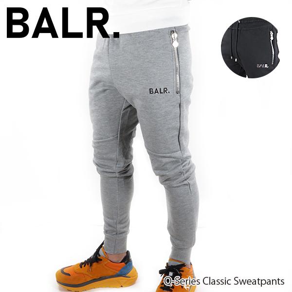 【2020 SS】【並行輸入品】『BALR. -ボーラー-』Q-Series Classic Sweatpants メンズ スウェットパンツ 長ズボン スポーティー【スーパーSALE開催☆ポイント最大44倍!!6/11 01:59マデ】
