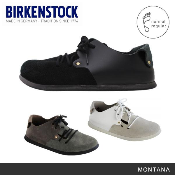 【予約】【送料無料】【並行輸入品】『BIRKENSTOCK-ビルケンシュトック-』MONTANA Suede Leather/Smooth-モンタナ スムースレザー-[普通幅]《ご注文後3日前後発送予定》