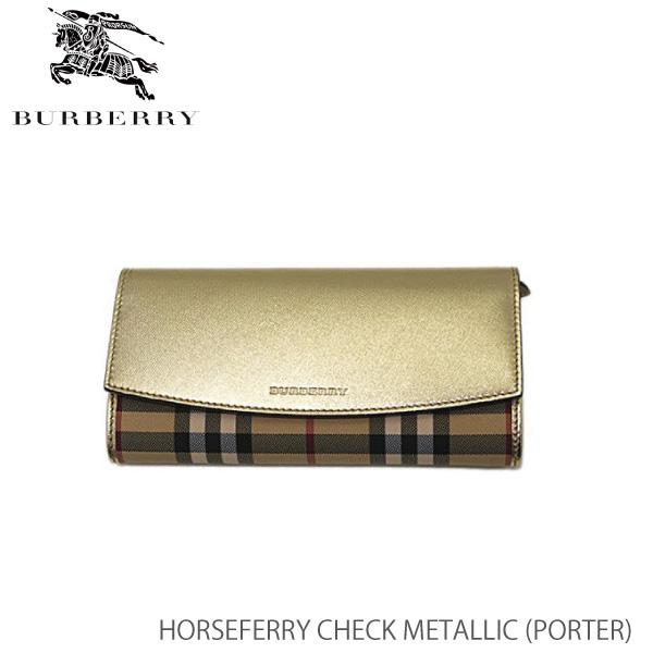 【送料無料】【並行輸入品】【BURBERRY-バーバリー】PORTER Horseferry Check Metallic