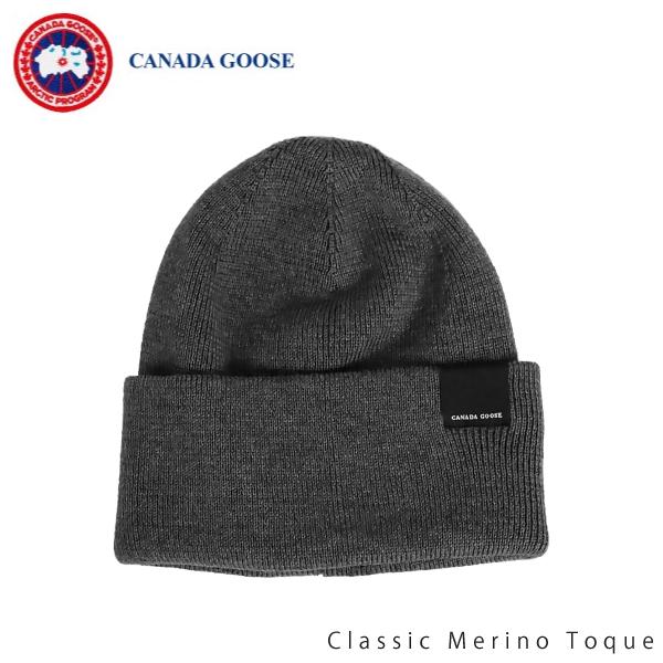 【並行輸入品】【2018-2019AW】『CANADA GOOSE-カナダグース』Classic Merino Toque-クラシック メリノ トーク-[5115L ニット帽]