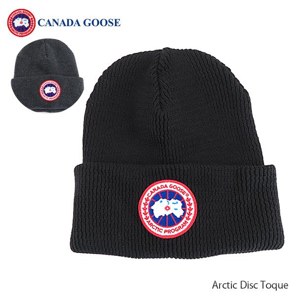 【並行輸入品】『CANADA GOOSE-カナダグース』Arctic Disc Toque ニット帽 レディース ロゴ [5350L]【スーパーSALE開催☆ポイント最大44倍!!6/11 01:59マデ】