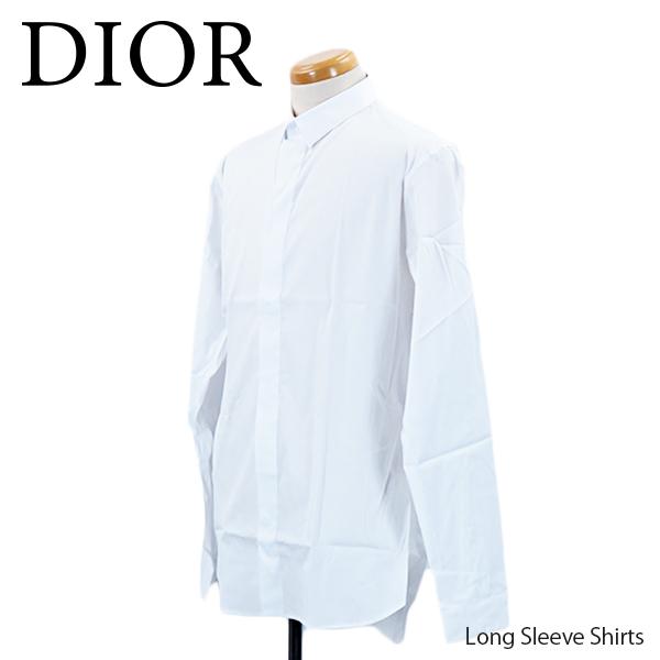 【予約】【並行輸入品】『Dior-ディオール-』Long Sleeve Shirts ロング スリーブ シャツ 長袖 ドレスシャツ 比翼シャツ[433C529B1223]≪ご注文後3日前後発送予定≫【スーパーSALE開催☆ポイント最大44倍!!6/11 01:59マデ】