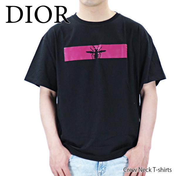 【予約】【並行輸入品】『Dior-ディオール-』Crew Neck T-shirts クルーネック ロゴ 半袖 Tシャツ メンズ[863J611 I6412]≪ご注文後3日前後発送予定≫【スーパーSALE開催☆ポイント最大44倍!!6/11 01:59マデ】