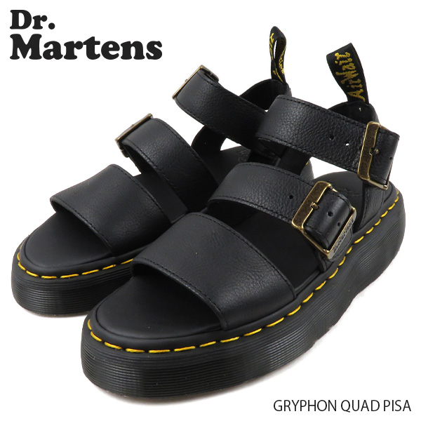【並行輸入品】『Dr.Martens-ドクターマーチン-』GRYPHON QUAD PISA グリフォン クワッド ピサ レディース ベルト サンダル[R25720001]