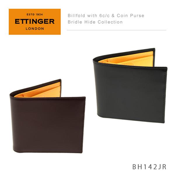 【予約】【送料無料】【並行輸入品】『Ettinger-エッティンガー-』Billfold with 6c/c&Coin Purse〔BH142JR〕《ご注文後3日前後発送予定》