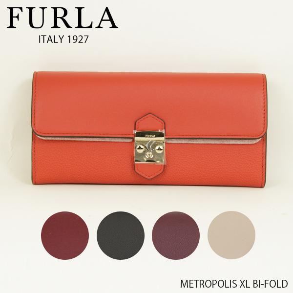 【並行輸入品】【2019 SS】『FURLA-フルラ-』METROPOLIS XL BI-FOLD〔PU37〕-メトロポリス XL バイフォールド 長財布-