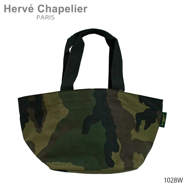 【並行輸入品】【2018 AW】『Herve Chapelier-エルベシャプリエ-』Medium tote Camouflage-舟形ショルダーバッグ-[1028W 49:Camouflage]