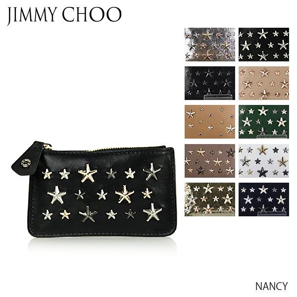 【送料無料】【並行輸入品】『JIMMY CHOO-ジミーチュウ-』 NANCY コインケース[スタースタッズ キーポーチ]