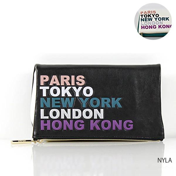 【送料無料】【並行輸入品】『JIMMY CHOO-ジミーチュウ-』NYLA クラッチバッグ