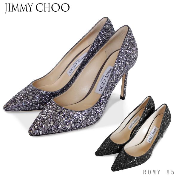 【送料無料】【並行輸入品】【2018 AW】『JIMMY CHOO-ジミーチュー-』ROMY 85 -ローミー 8.5cmヒールパンプス -