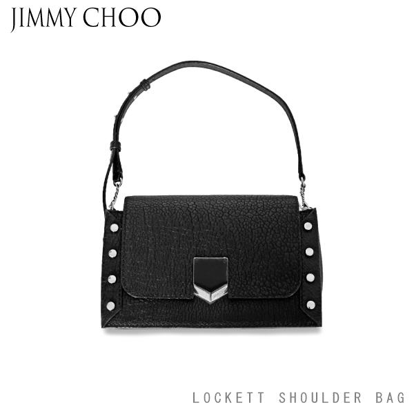 【送料無料】【2018 AW】【並行輸入品】『JIMMY CHOO-ジミーチュウ-』LOCKETT SHOULDER BAG-ロケットショルダーバッグ-