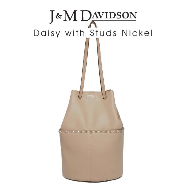 【送料無料】【並行輸入品】『J&M Davidson-ジェイアンドエムデヴィッドソン-』Daisy with Studs Nickel〔1447N/7314〕[デイジー ウィズスタッズ]