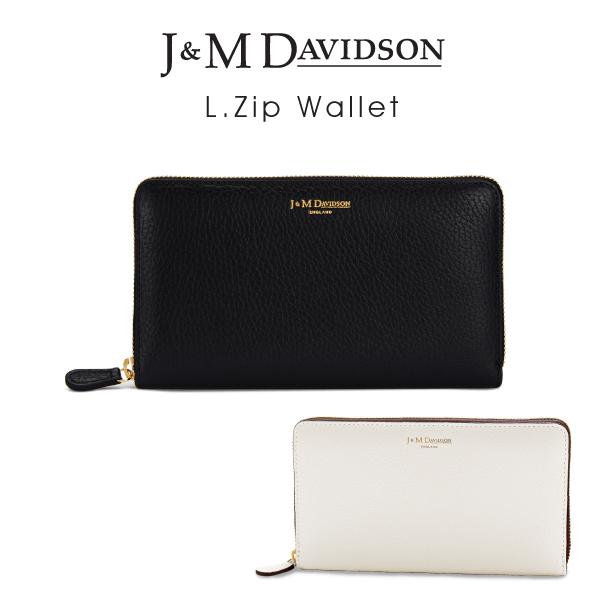 【送料無料】【並行輸入品】『J&M Davidson-ジェイアンドエムデヴィッドソン-』L.Zip Wallet〔10011/7266〕[エルジップ ウォレット]