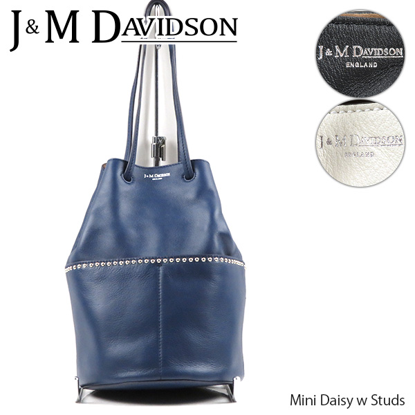 【並行輸入品】【送料無料】『J&M Davidson-ジェイアンドエムデヴィッドソン-』Mini Daisy w/Studs ミニデイジー ウィズ スタッズ ハンドバッグ レディース 〔1428N/7314〕