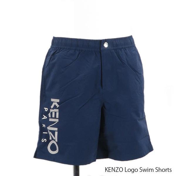 {KENZO ケンゾー KENZO Logo Swim Shorts ロゴ ブランド品 スイムショーツ ≪返品交換不可≫KENZO メンズ メンズ〔FA55BA208SEA77 一部予約 FA55BA208SEA77} ボードショーツ スイムウェア 海パン 水着