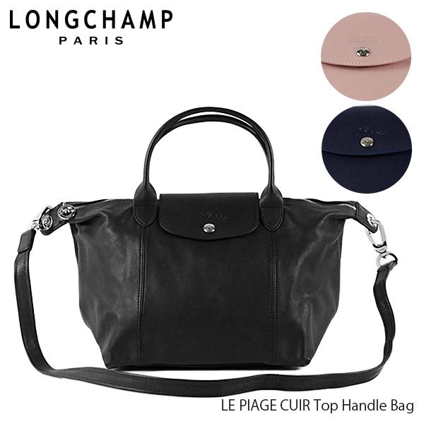 【送料無料】【並行輸入品】【2019 SS】『Longchamp-ロンシャン-』LE PLIAGE CUIR Top Handle Bag ル・プリアージュ キュイール トートバッグ 〔1512 737〕