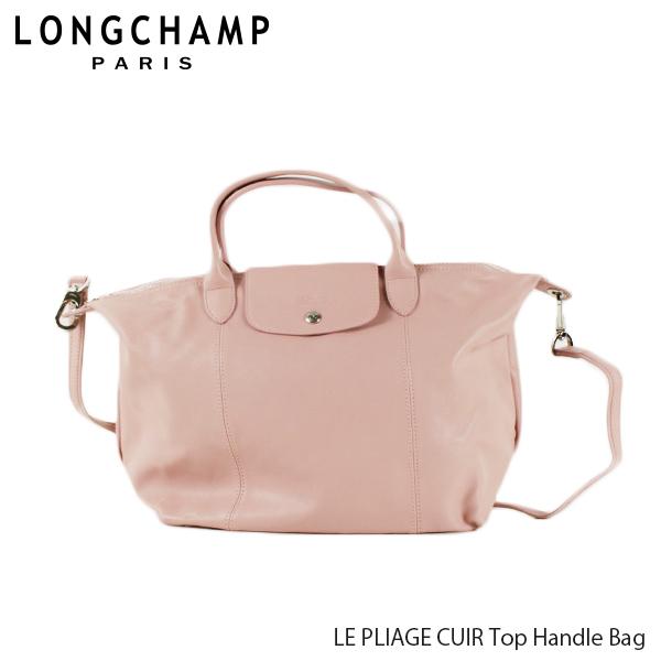 【送料無料】【並行輸入品】【2019 SS】『Longchamp-ロンシャン-』LE PLIAGE CUIR Top Handle Bag ル・プリアージュ キュイール トートバッグ 〔1515 737〕