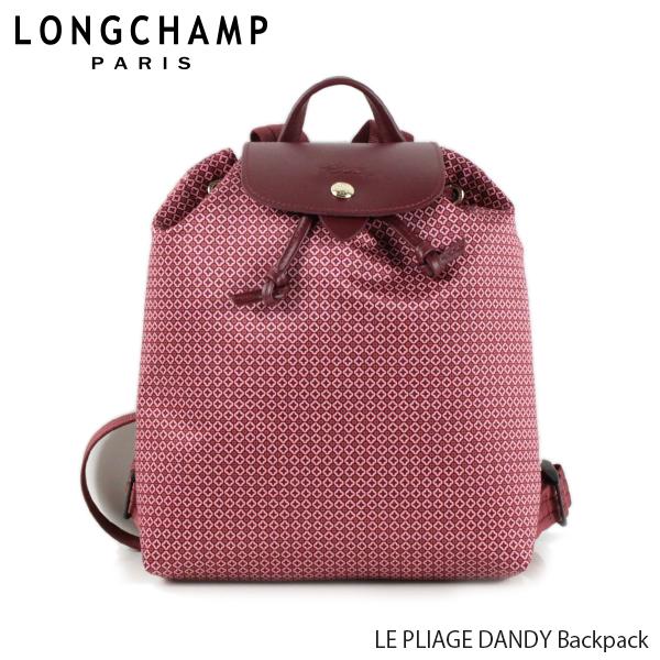 【送料無料】【並行輸入品】【2019 SS】『Longchamp-ロンシャン-』LE PLIAGE DANDY Backpack ル・プリアージュ ダンディ バックパック 〔1609 691〕