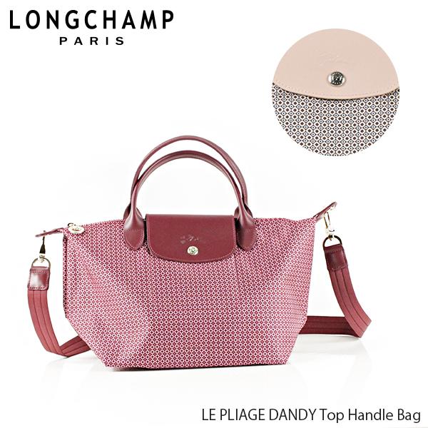 【並行輸入品】【2019 SS】『Longchamp-ロンシャン-』LE PLIAGE DANDY Top Handle Bag ル・プリアージュ ダンディ トートバッグ 〔1512 691〕