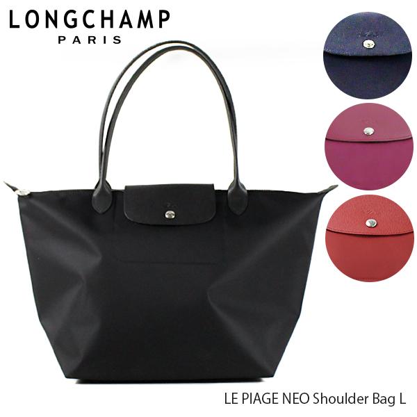 【並行輸入品】【2019 SS】『Longchamp-ロンシャン-』LE PLIAGE NEO Shoulder Bag L ル・プリアージュ ネオ トートバッグ 〔1899 578〕