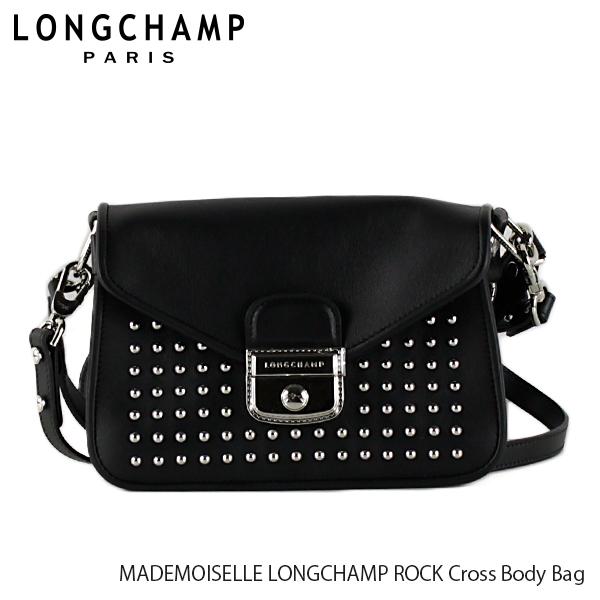 【送料無料】【並行輸入品】【2019 SS】『Longchamp-ロンシャン-』MADEMOISELLE LONGCHAMP ROCK Cross Body Bag マドモアゼル ロンシャン ロック ショルダーバッグ 〔2038 HLV〕