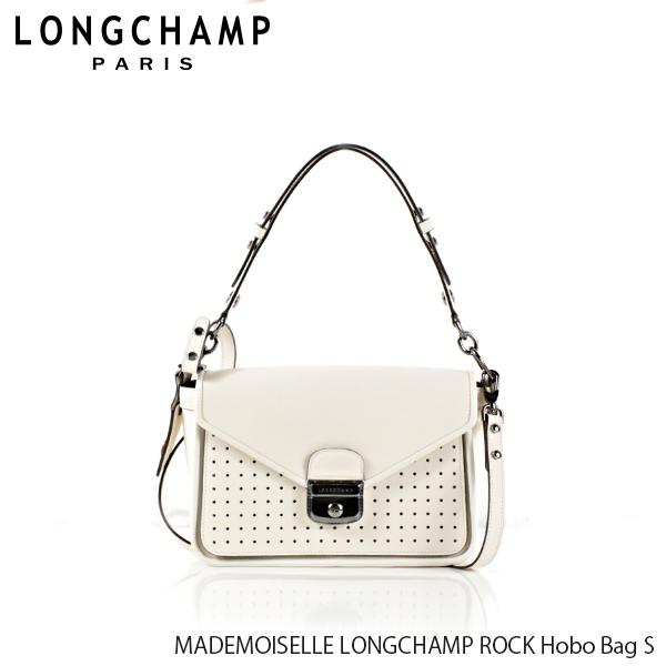 【送料無料】【並行輸入品】【2019 SS】『Longchamp-ロンシャン-』MADEMOISELLE LONGCHAMP ROCK Hobo Bag S マドモアゼル ロンシャン ロック  ショルダーバッグ 〔1323 883〕ポイント最大44倍!!スーパーセール!
