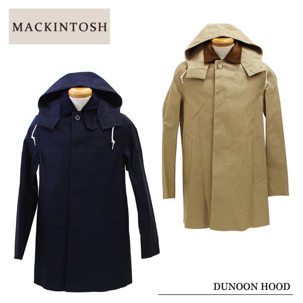 【送料無料】【MACKINTOSH-マッキントッシュ-】DUNOON HOOD[5875HD][メンズ・ステンカラー・フーディ・アウター・コットン]