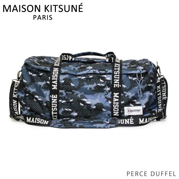 【2019SS】【並行輸入品】『MAISON KITSUNE-メゾンキツネ-』PERCE DUFFEL EASTPAK イーストパック 限定コラボ ナイロン ボストンバック 撥水加工〔SPEAU808〕