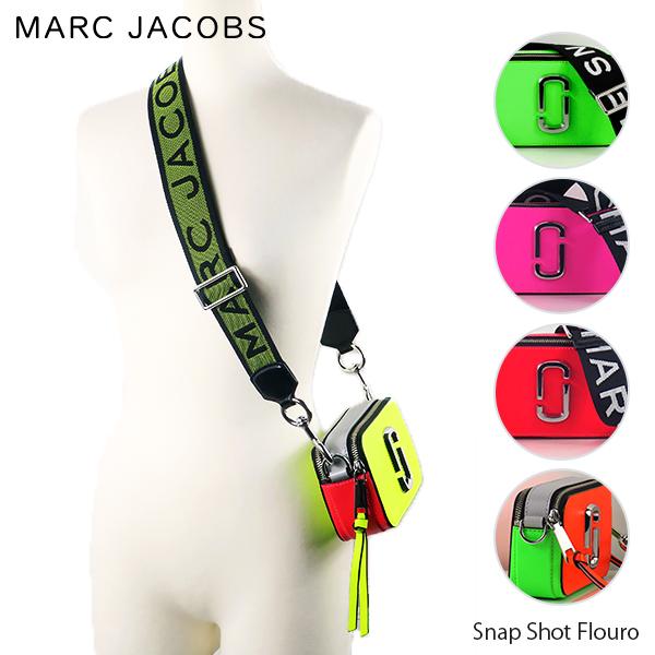 【送料無料】『MarcJacobs-マークジェイコブス』Snap Shot Flouro-スナップショット フラシーノ ショルダーバッグ ネオン-〔M0014503〕