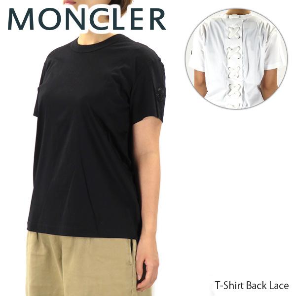 【送料無料】【並行輸入品】【2018-19 AW】『MONCLER GENIUS-モンクレール ジーニアス-』T-Shirt Back Lace Noir Kei Ninomiya-ケイ ニノミヤ-[8050100 809CR]【お買い物マラソン】