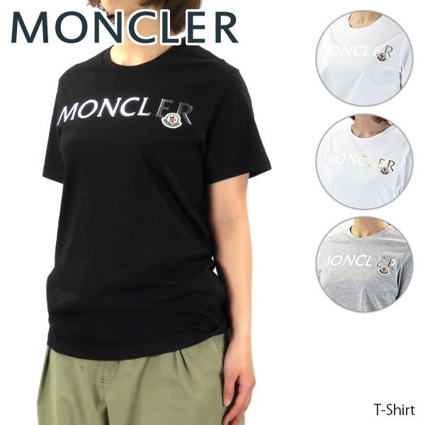 【予約】【送料無料】【並行輸入品】『MONCLER-モンクレール』T-Shirt Tシャツ 半袖 クルーネック レディース[8C715 10 V8094]《ご注文後3日前後発送予定》【スーパーSALE開催☆ポイント最大44倍!!6/11 01:59マデ】