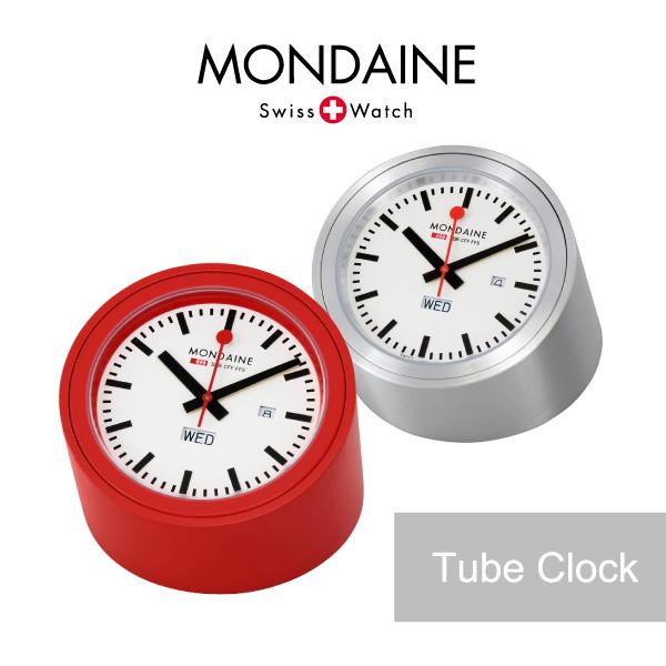 【予約】【送料無料】『MONDAINE-モンディーン-』Tube Clock〔A667.TUBE〕《ご注文後3日前後発送予定》